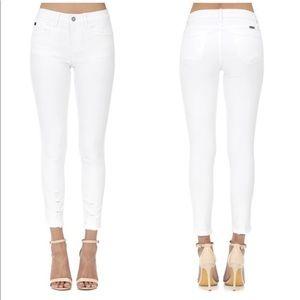 Denim - 🔥🔥Kancan White Distressed Skinny Jeans- JUST IN!